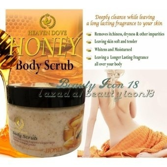Harga Honey Body Scrub 300g