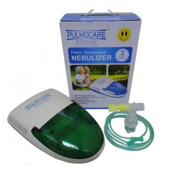 Pulmocare Classic Piston Compressor Nebulizer with 3 years warranty (Green) Price Philippines