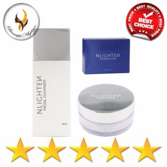 Harga NLighten Beauty Set (For stretchmark,darkspots & Scars)
