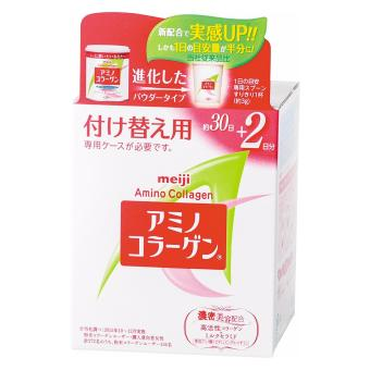 Harga NEW AND IMPROVED Meiji Amino Collagen Refill good for 32 Days