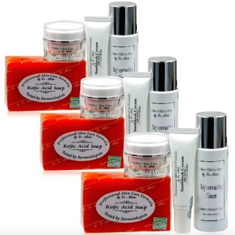 Dr. Alvin Professional Skin Care Formula Rejuvenating Set for All Skin types Bundle of 3 Price Philippines