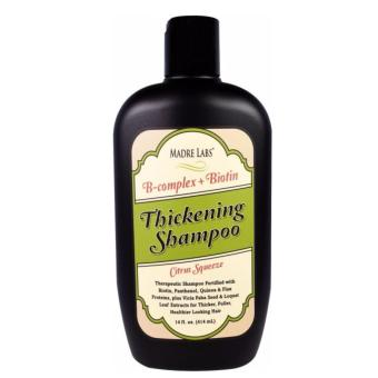 Harga Madre Labs B-Complex+Biotin Thickening Shampoo Citrus Squeeze