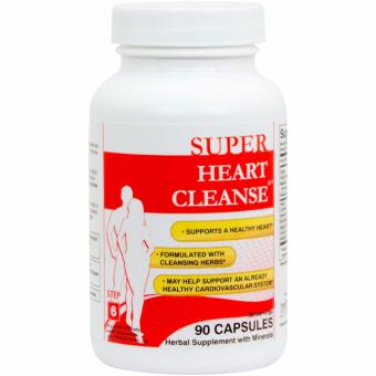 Harga Health Plus Super Heart Cleanse, 90 Capsules