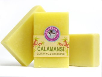 Harga Milea Organic Calamansi Clarifying Soap 100g Set of 3