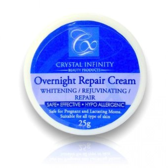 Harga Crystal Infinity - Overnight Repair Cream (25grams)