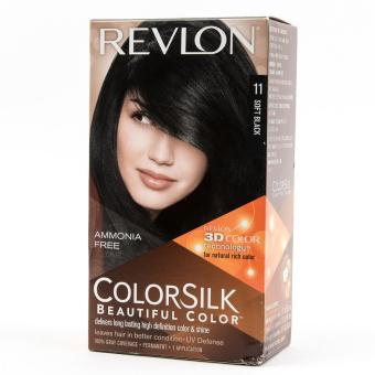 Revlon Color Silk Beautiful Color (Soft Black) Price Philippines