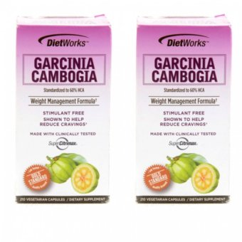 Harga Dietwork Garcinia Cambogia Bottle of 210 Capsule Set of 2