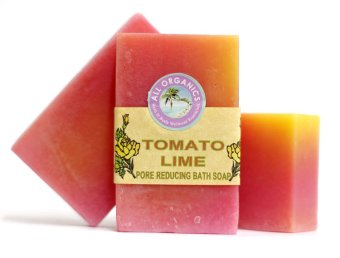 Harga Milea Organic Tomato Lime Enzyme Pore Reducing Soap 100g Set of 3