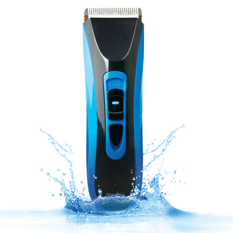 Riwa RE-750A high quality CE certificated 7 level waterproof professional hair trimmer blue color Cordless hair clipper For Adult or Baby Price Philippines