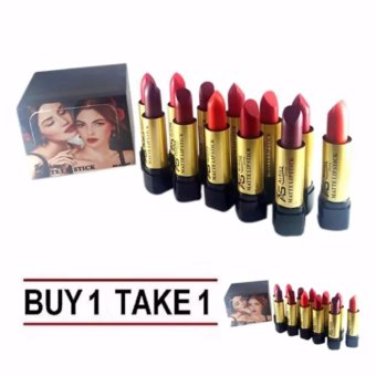 Ashley Shine Matte Lipsticks 12pcs Multicolor (Buy 1 Take 1) Price Philippines