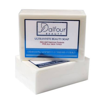 Harga Dalfour Beauty Ultrawhite Whitening Beauty Soap, Pack of 1