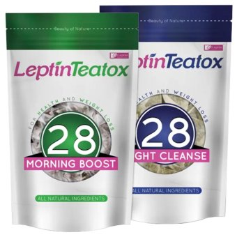 Harga Leptin Teatox Weight Loss Tea 28-day Detox Combo