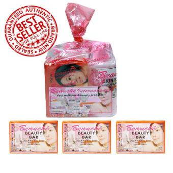 Harga Beauche Beauty Pack + 3 Beauty Bar 90 gms