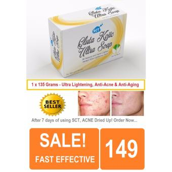 Harga SCT Gluta Kojic Ultra Skin Lightening Soap for Men and Women