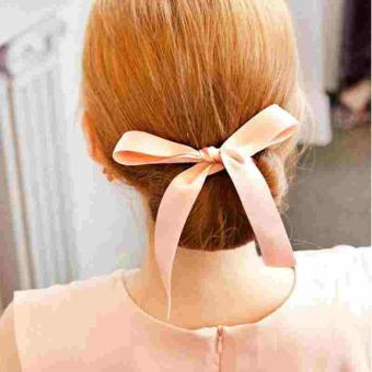 Harga 1 PC Fashion Women Magic Tools Foam Sponge Device Quick Messy Donut Bun Hairstyle Girl Hair Bows Band Accessories - intl
