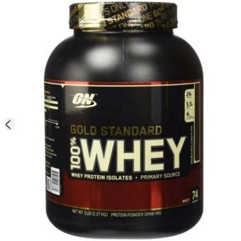 Harga Optimum Nutrition 100% Whey Gold Standard Double Rich Chocolate 2.27kg