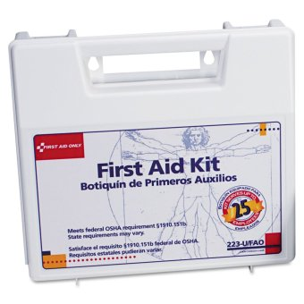 Harga 106 PCS Emergency First Aid Kit OSHA / ANSI compliant ( 25 persons ) with mountable carrying case ( USA )