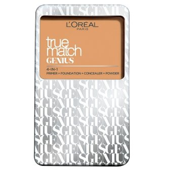 Harga L'Oreal Paris True Match Genius Two Way Cake Compact Foundation 7g (G1 Gold Ivory)