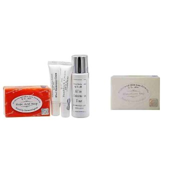 Dr. Alvin Professional Skin Care Formula Maintenance Set for Dry Skin (PLUS Glutathione Soap 135g) Price Philippines