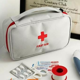 Medical Travel Kit Pouch (Grey) Price Philippines