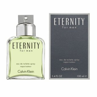 Harga Calvin Klein Ck Eternity Eau de Toilette for Men 100ml.