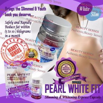 Harga Pearl White Fit Slimming and Whitening Express Capsule 30s