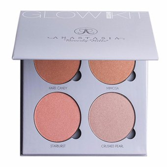 Anastasia Beverly HIlls Glow Kit- Gleam 4 colors (Silver) Price Philippines