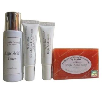Dr. Alvin Professional Skin Care Formula Kojic Acid Facial Set for Dry Skin Price Philippines