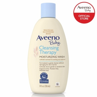 AVEENO BABY Cleansing Therapy Moisturizing Wash 236ML Price Philippines