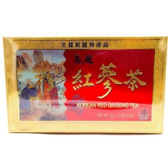 Harga Korean red ginseng tea 100's