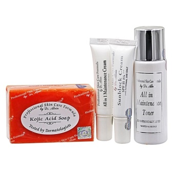 Dr. Alvin Professional Skin Care Formula Maintenance Set for Dry Skin Price Philippines