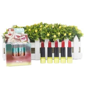 Ashley AS7058 Shine Effect Lipstick 12pcs (Multicolor) Price Philippines