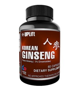 Harga UPLift Korean Ginseng 200mg Capsules Bottle of 60