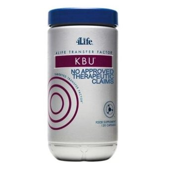 4Life Transfer Factor KBU (Kidney Bladder Urinary) Cranberry, Blueberry, Dandelion Leaf, and Juniper Berry Capsules Bottle of 120 Price Philippines