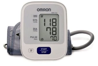 Automatic Arm Type Blood Pressure Monitor Brand Omron HEM-7121 (White) Price Philippines