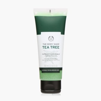 The Body Shop Tea Tree Squeaky-Clean Scrub 100 mL Price Philippines