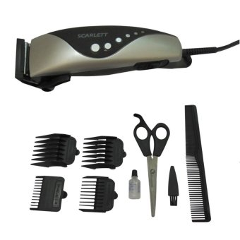 Harga GMY Scarlett SC-167 Hair Clipper 9-piece Set.
