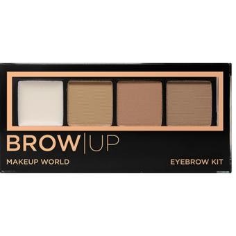 Harga Makeup World Eyebrow Kit ( Light )