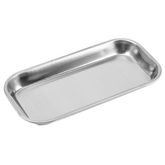 Harga 1pc Dental 201 Stainless Steel Medical Instrument Tray Useful Tool for Clinic Lab 22.5X11.5cm - intl
