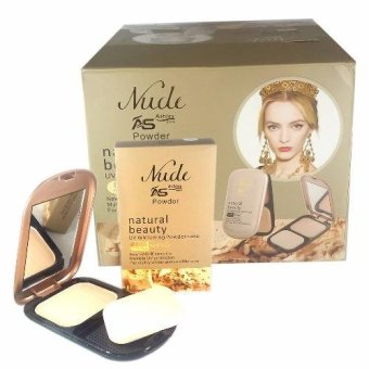 Nude Ashley Shine Natural Beauty UV Whitening Powder Cake w/ SPF15 Price Philippines