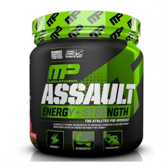 Harga Muscle Pharm Assault Sport Nutrition Powder, 30 Count