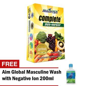 Aim Global Complete Phyto Energizer with Free Aim Global Masculine Wash Price Philippines