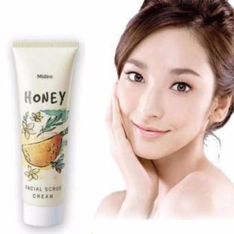 Harga Mistine Honey Facial Mask Scrub Cream 85g