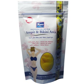 Harga WHITENING SPA SALT FOR ARMPIT&BIKINI AREA (220g)