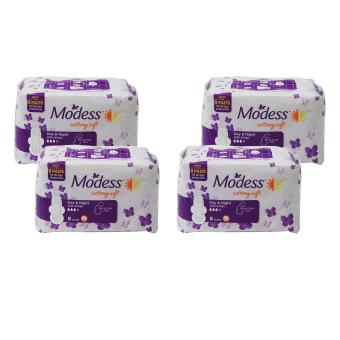 Modess Cottony Soft Day & Night w/ wings 8 pads 373964 4's Price Philippines
