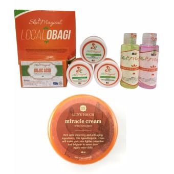 Harga Skin Magical Local Obagi Set + Lily's Touch Miracle Cream 50ml