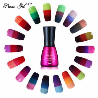 (BUNDLE OF 2s) Beau Gel 7ml Gel UV Nail Polish Chameleon Temperature Color Changing Nail Polish Thermal Color Change Price Philippines