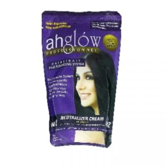 Ahglow Hair Rebonding Neutralizing Cream in pouch 165g Price Philippines