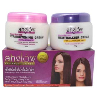 Professional Keratin Rebonding Cream 2in1 Set 500mlx2 AH-1056-B Price Philippines