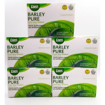 Harga Sante Barley Pure 60 capsules set of 5 boxes